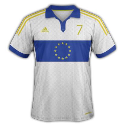 Europe - away 1