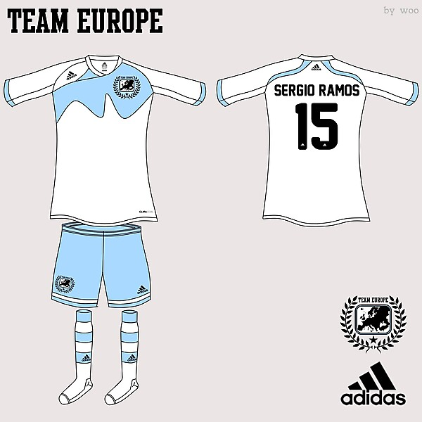 Team Europe Adidas Fantasy Home