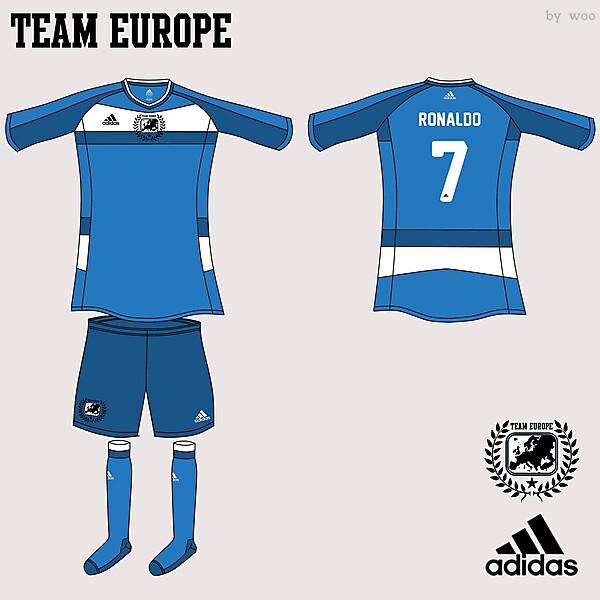 Team Europe Adidas Fantasy Away