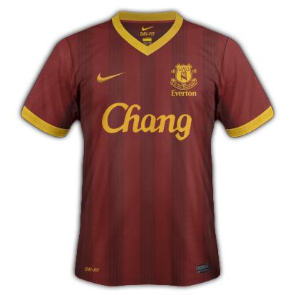 Everton fantasy kits with Nike