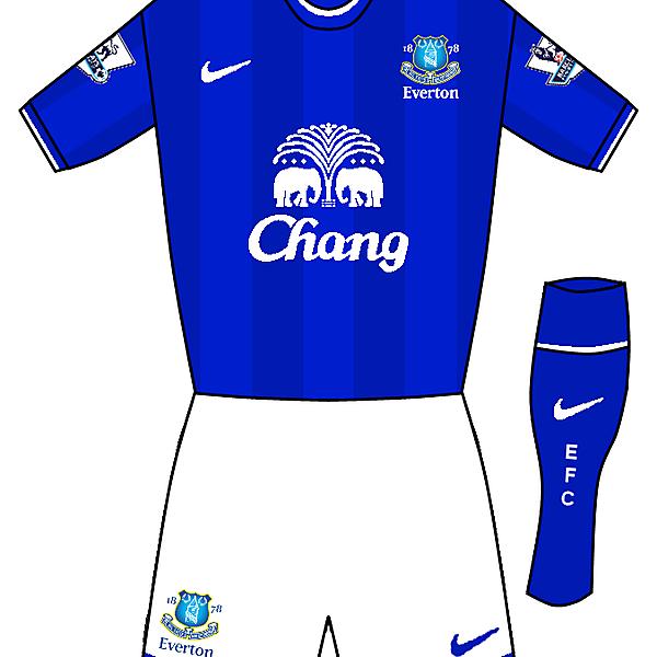 Everton Nike Home