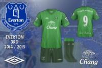 Everton 2014 / 2015 3rd Kit