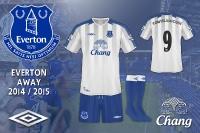 Everton 2014 / 2015 Away Kit