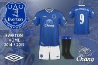 Everton 2014 / 2015 Home Kit