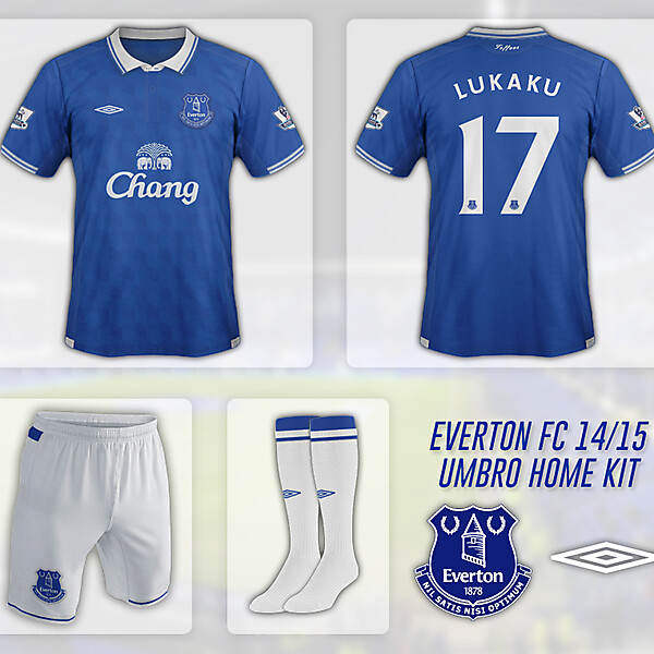 Everton FC - Umbro 14/15 Home Kit