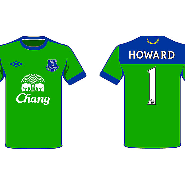 Everton GK
