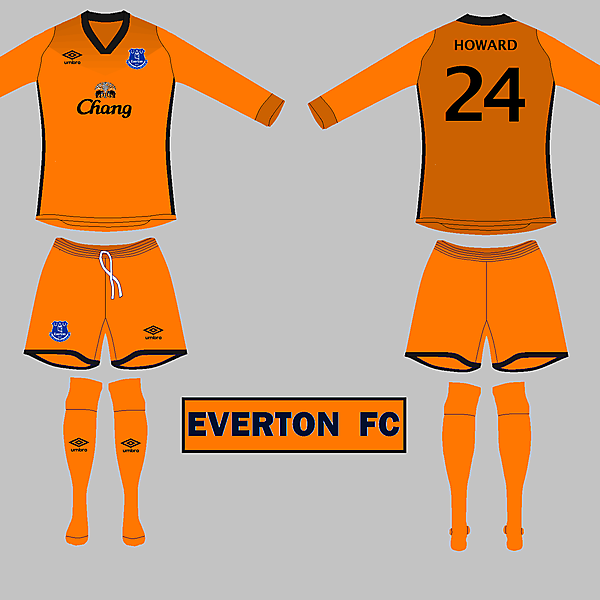 Everton GK kit
