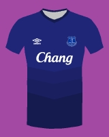 Everton Home 2014/15 by umbro