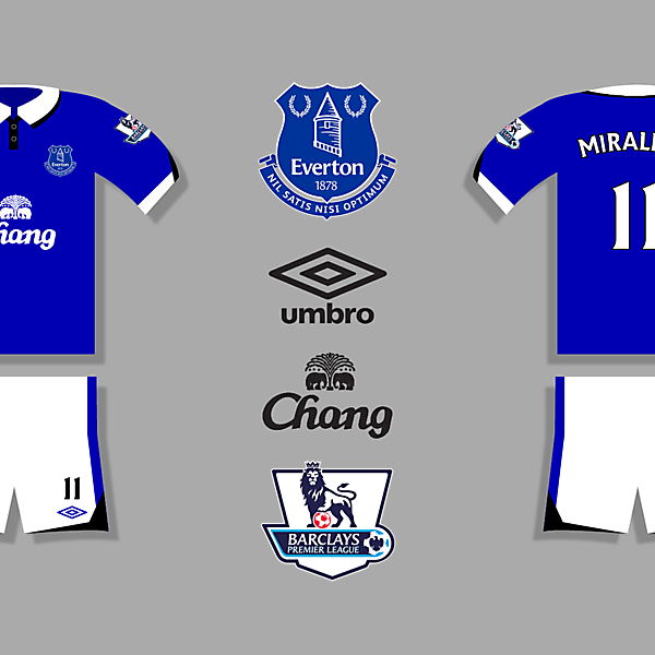 Everton Home Kit