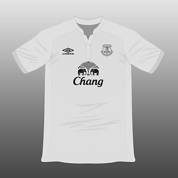 Everton Umbro Away Jersey 14/15