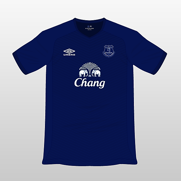 Everton Umbro Home Jersey 14/15