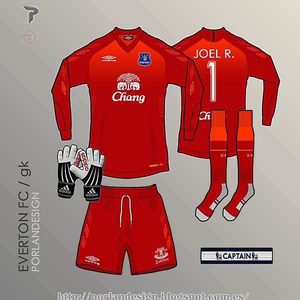 PORLANDESIGN / Everton FC GK