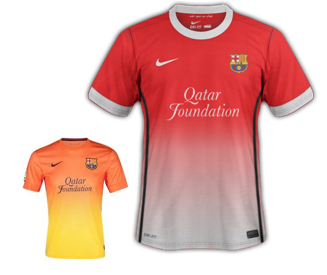 Barcelona 4th Kit 2012/13