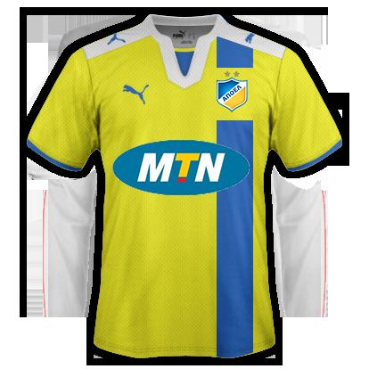 APOEL FC Away Kit