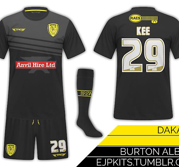 Burton Albion Third