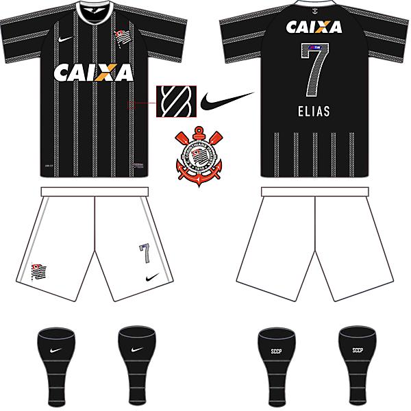 Corinthians(BRA) Away Kit