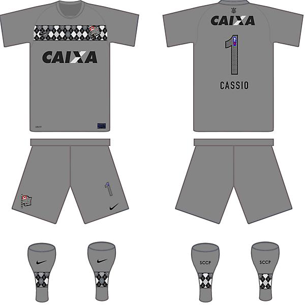 Corinthians(BRA) GK Kit