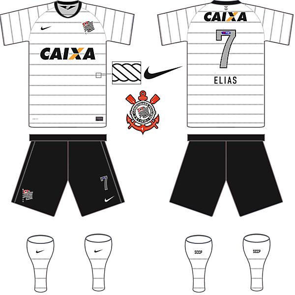 Corinthians(BRA) Home Kit