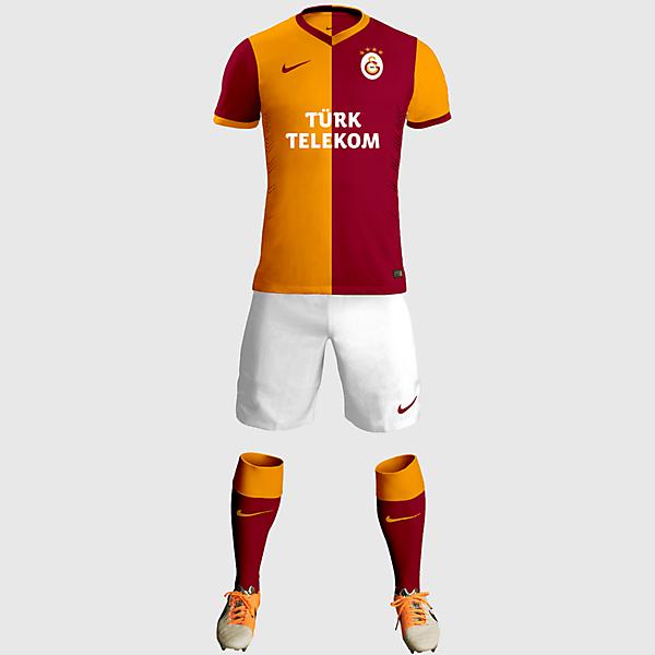 Galatasaray SK Home Kit