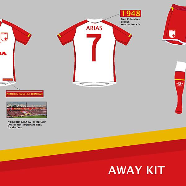 Independiente Santa Fe (COL) Away Kit