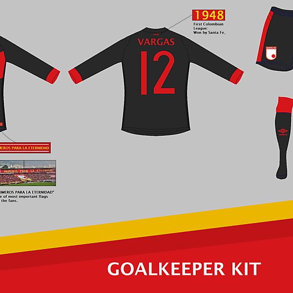 Independiente Santa Fe (COL) GK Kit
