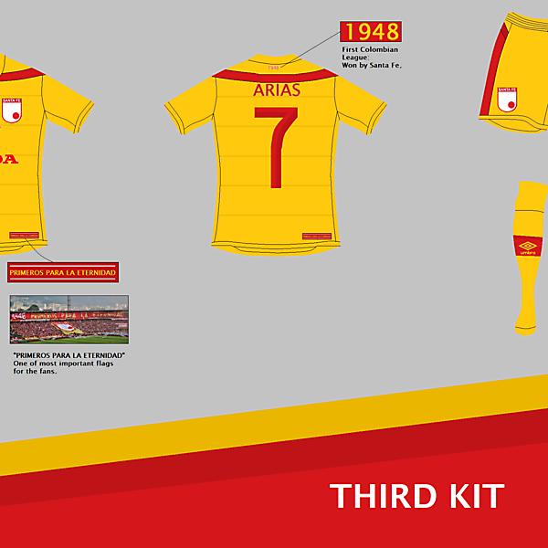 Independiente Santa Fe (COL) Third Kit