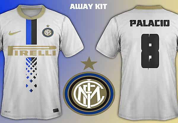 Inter Milan away kit 14/15