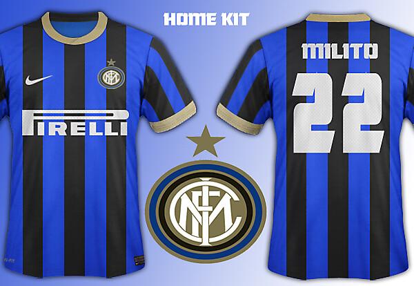 Inter Milan home kit 14/15
