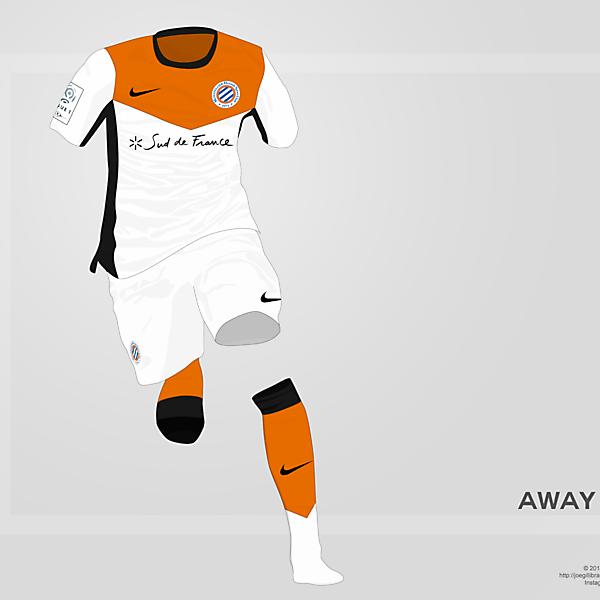Montpellier Away kit 14/15