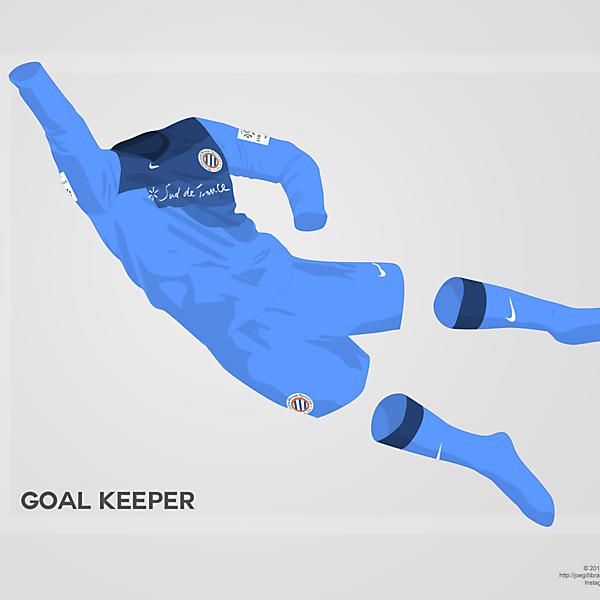 Montpellier GK kit 14/15
