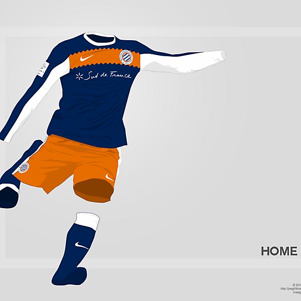 Montpellier Home kit 14/15