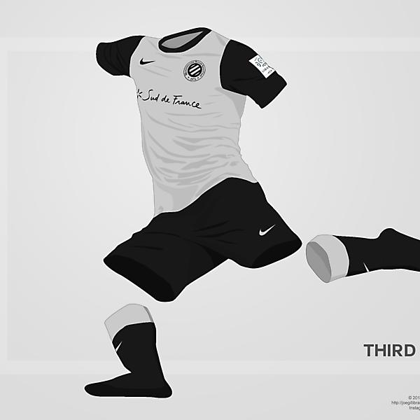 Montpellier Third kit 14/15