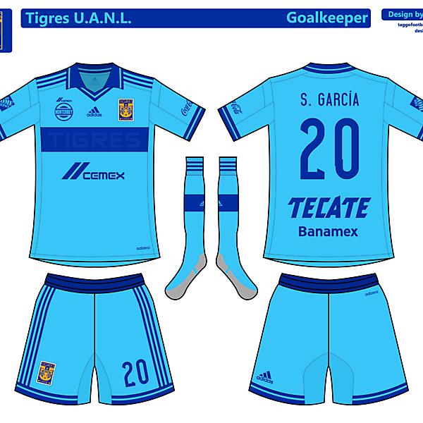 Tigres UANL Goalkeeper Kit