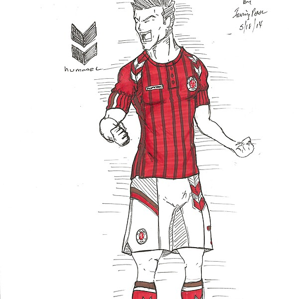 FC St. Pauli Hummel Concept by Irvingperceni