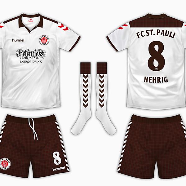 St Pauli Away Kit - Hummel