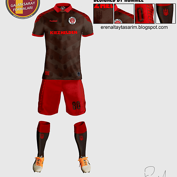 ST Pauli Jersey Design