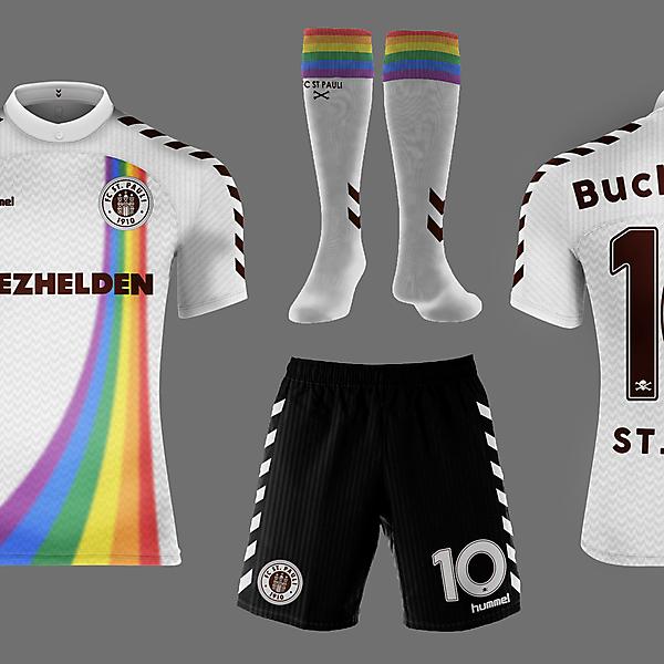 St. Pauli Third Kit - Hummel