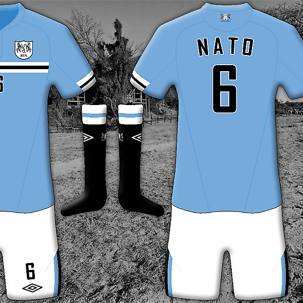 Botswana Home - Umbro Kit