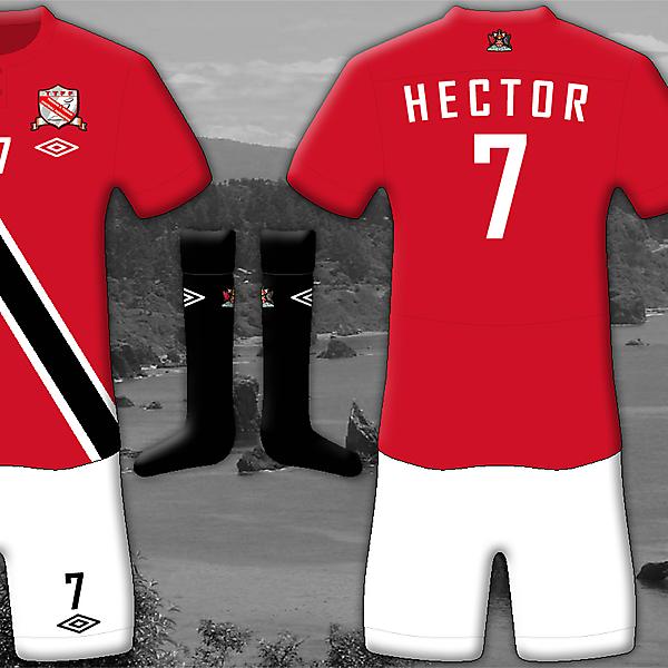 Trinidad and Tobago Home - Umbro Kit