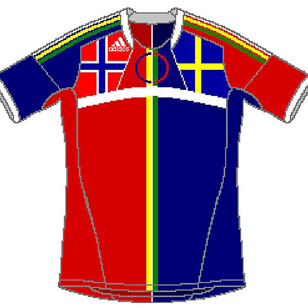 Lapland Adidas Home (Fantasy Team)