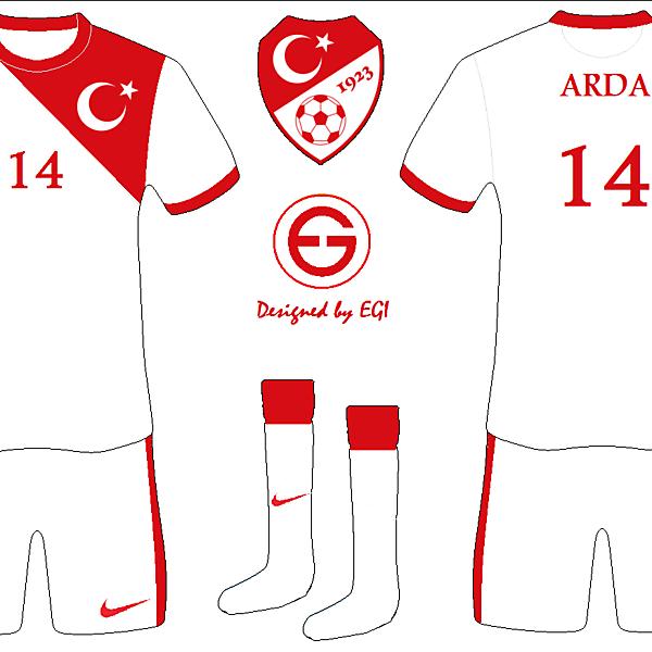 Turkey Away Kit national flag