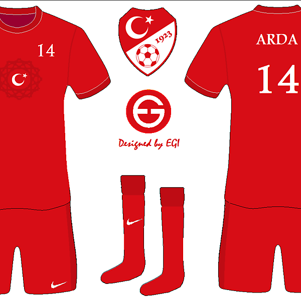 Turkey Home Kit National Flag