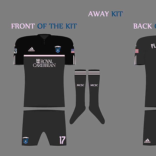 MCFC Away Kit