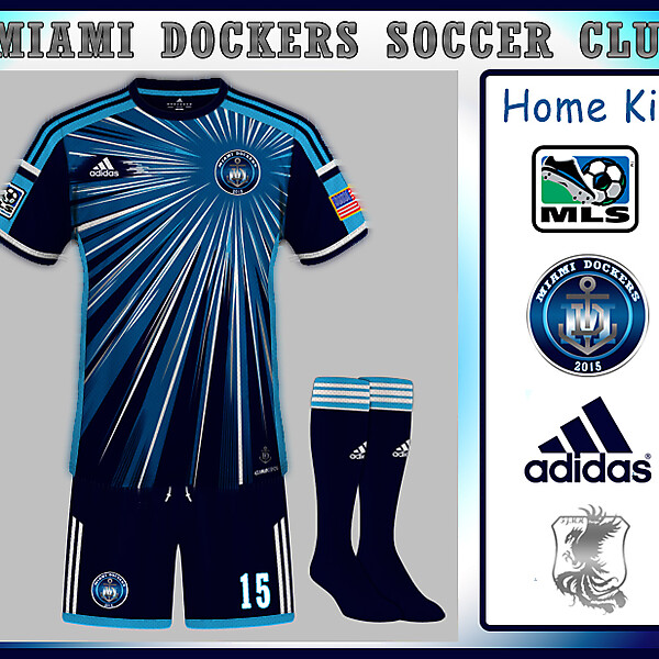 MIAMI DOCKERS Home Kit
