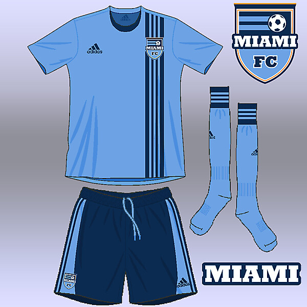 Miami FC home kit