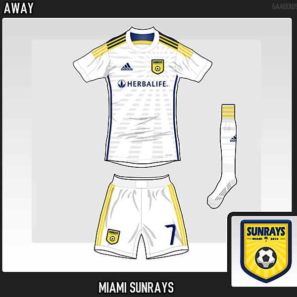 Miami Sunrays FC Away