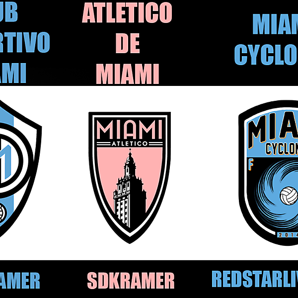 Miami Team - Best Crest Vote