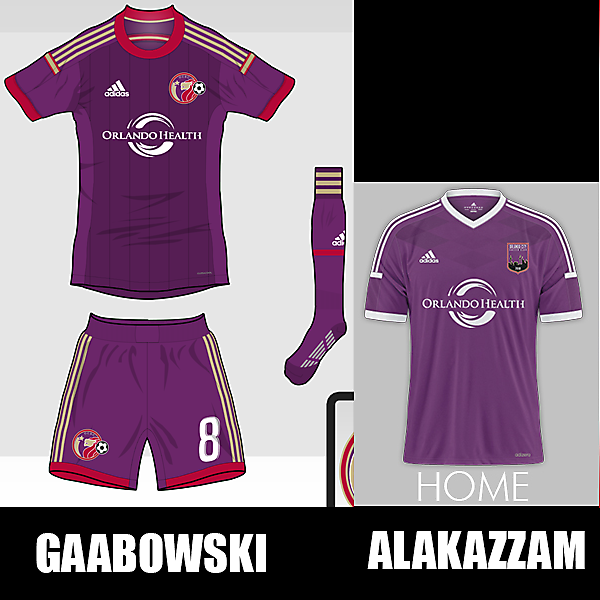 Orlando City - Best Home Kit Vote