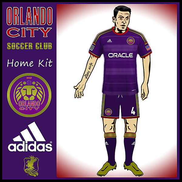 Orlando City Home Kit
