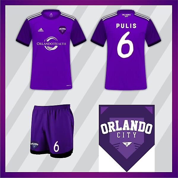 Orlando City S.C. Home Jersey 2